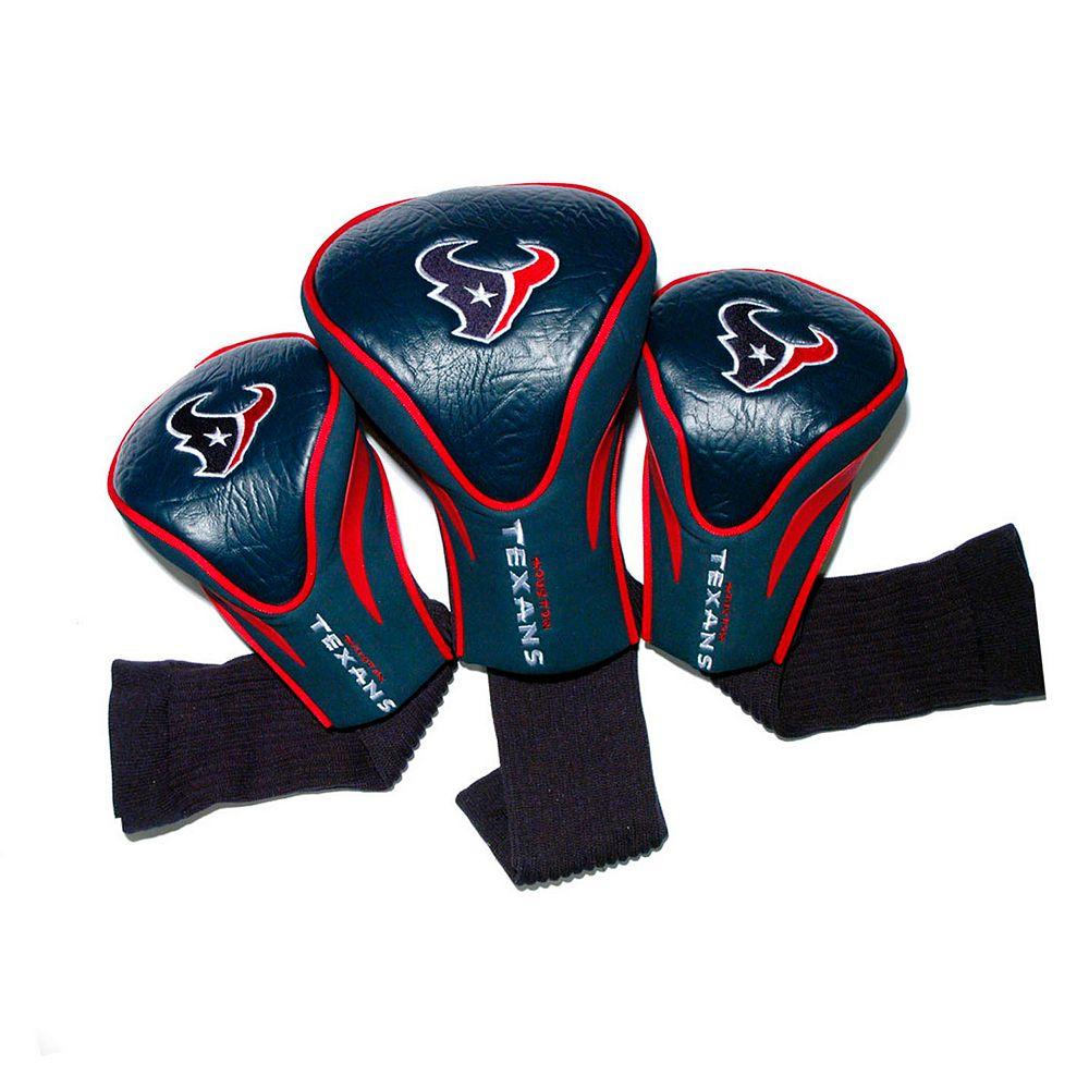 Team Golf Houston Texans 3-pc. Contour Head Cover Set