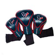 Team Golf Houston Texans 3-pc. Contour Head Cover Set
