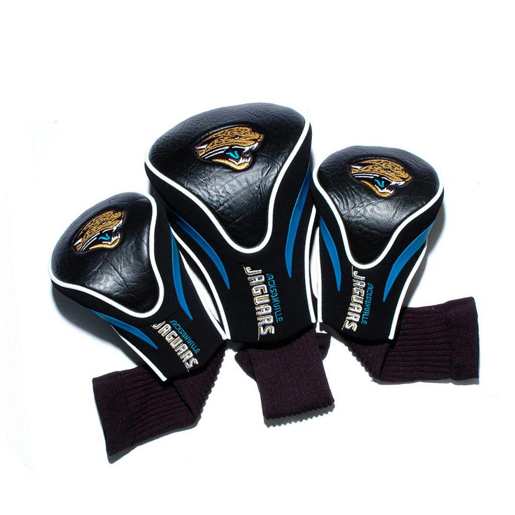 Team Golf Jacksonville Jaguars 3-pc. Contour Head Cover Set