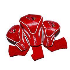 Team Golf Arizona Cardinals 3 pc Contour Head Cover Set