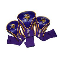 Team Golf Minnesota Vikings 3-pc. Contour Head Cover Set