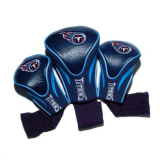 Team Golf Tennessee Titans 3-pc. Contour Head Cover Set
