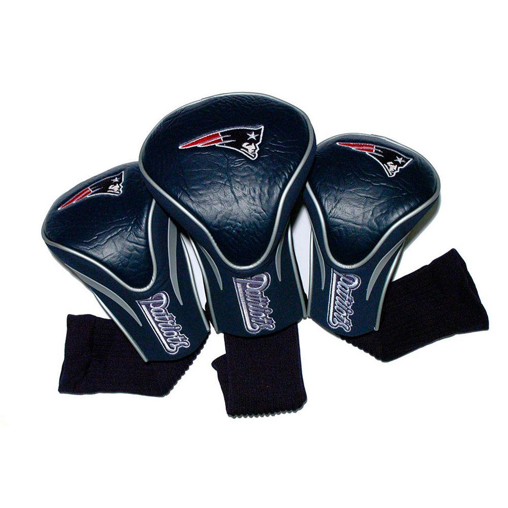 Team Golf New England Patriots 3-pc. Contour Head Cover Set