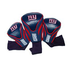 Team Golf New York Giants 3 pc Contour Head Cover Set