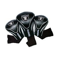 Team Golf Oakland Raiders 3 pc Contour Head Cover Set