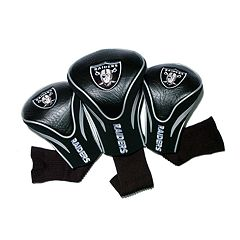 Team Golf Oakland Raiders 3-pc. Contour Head Cover Set