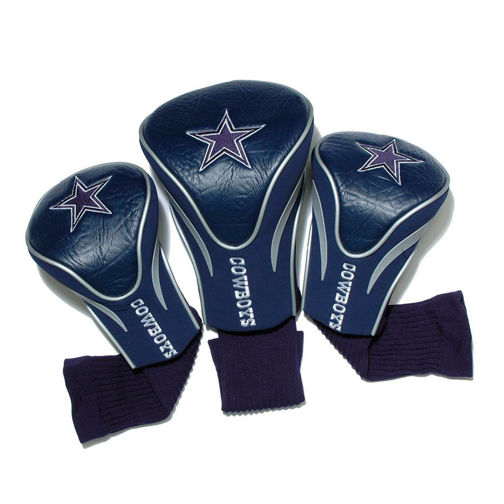 Team Golf Dallas Cowboys 3-pc. Contour Head Cover Set