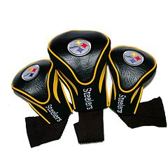 Team Golf Pittsburgh Steelers 3-pc. Contour Head Cover Set