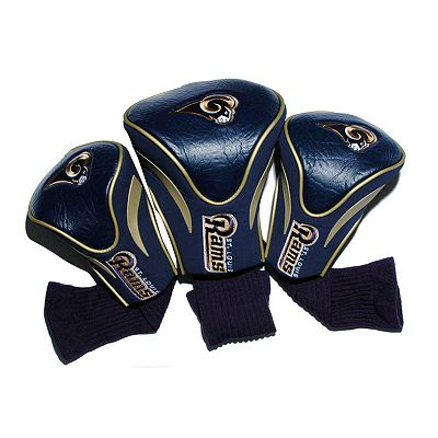 Team Golf St. Louis Rams 3-pc. Contour Head Cover Set