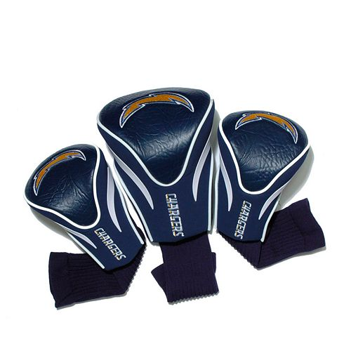 Team Golf San Diego Chargers 3-pc. Contour Head Cover Set