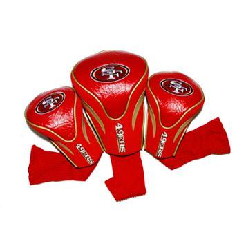 Team Golf San Francisco 49ers 3-pc. Contour Head Cover Set
