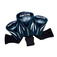 Team Golf Seattle Seahawks 3 pc Contour Head Cover Set