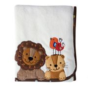 Lambs and Ivy S.S. Noah Fleece Blanket
