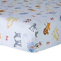 Lambs & Ivy S.S. Noah Crib Sheet
