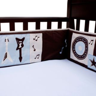 Lambs and Ivy Rock 'N Roll Crib Sheet