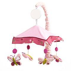Lambs & Ivy Raspberry Swirl Musical Mobile