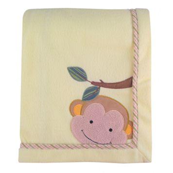 Lambs & Ivy Papagayo Fleece Blanket