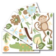 Lambs and Ivy Papagayo Wall Decals