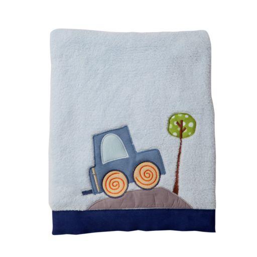 Lambs and Ivy Little Traveler Fleece Blanket