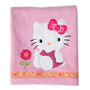Hello Kitty Garden Fleece Blanket by Lambs and Ivy