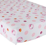 Hello Kitty Garden Crib Sheet by Lambs and Ivy