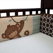 Lambs and Ivy Giggles Crib Sheet