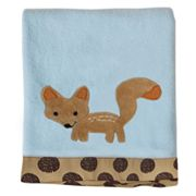 Lambs and Ivy Animal Antics Fleece Blanket