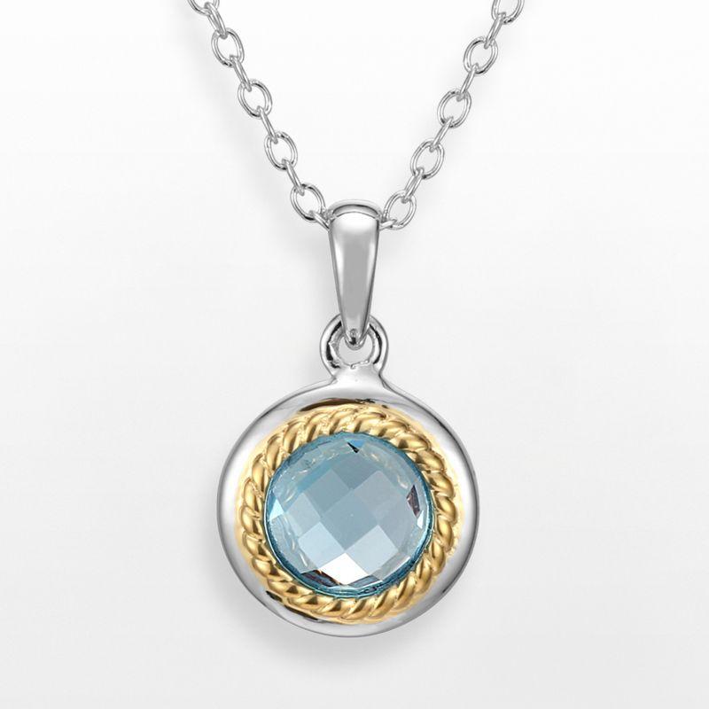 blue topaz jewelry kohl s