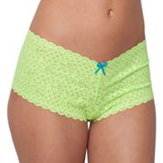 Candie's Scalloped Lace Cheeky Panty