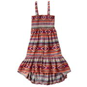 Mudd Geometric Hi-Low Convertible Dress and Skirt - Girls Plus