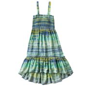 Mudd Striped Hi-Low Convertible Dress and Skirt - Girls Plus