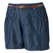 Apt. 9 Cuffed Chambray Shorts