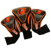 Team Golf Baltimore Orioles 3-pc. Contour Head Cover Set