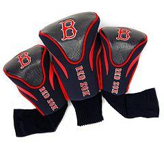 Team Golf Boston Red Sox 3-pc. Contour Head Cover Set