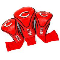 Team Golf Cincinnati Reds 3-pc. Contour Head Cover Set