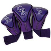 Team Golf Colorado Rockies 3-pc. Contour Head Cover Set
