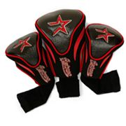 Team Golf Houston Astros 3-pc. Contour Head Cover Set