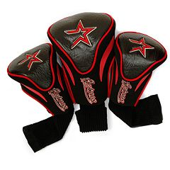 Team Golf Houston Astros 3 pc Contour Head Cover Set