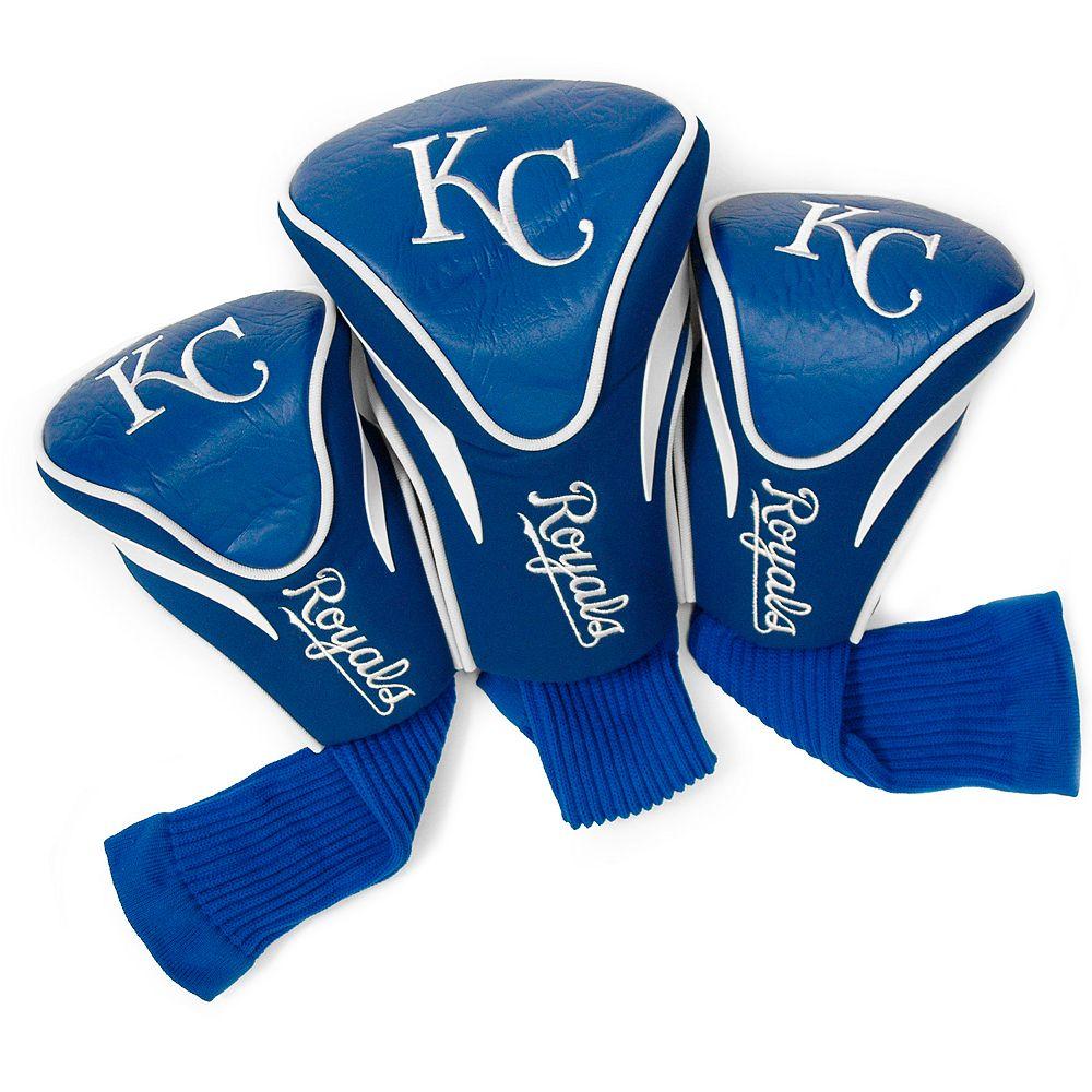 Team Golf Kansas City Royals 3-pc. Contour Head Cover Set