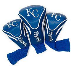 Team Golf Kansas City Royals 3 pc Contour Head Cover Set