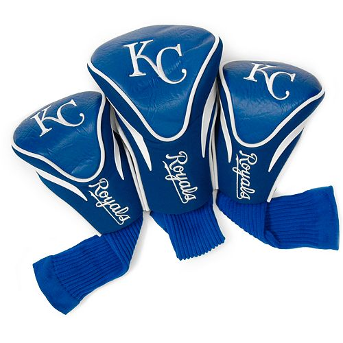 Team Golf Kansas City Royals 3-pc. Contour Head Cover Set