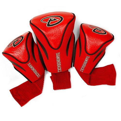 Team Golf Arizona Diamondbacks 3-pc. Contour Head Cover Set