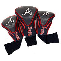 Team Golf Atlanta Braves 3-pc. Contour Head Cover Set