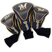 Team Golf Milwaukee Brewers 3-pc. Contour Head Cover Set