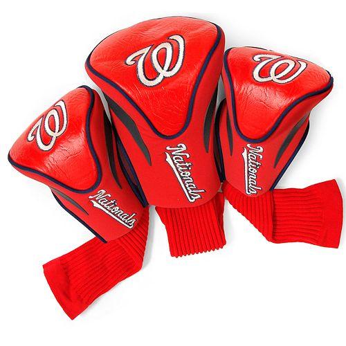 Team Golf Washington Nationals 3-pc. Contour Head Cover Set