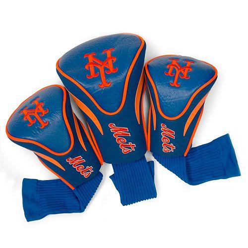 Team Golf New York Mets 3-pc. Contour Head Cover Set