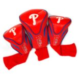 Team Golf Philadelphia Phillies 3-pc. Contour Head Cover Set