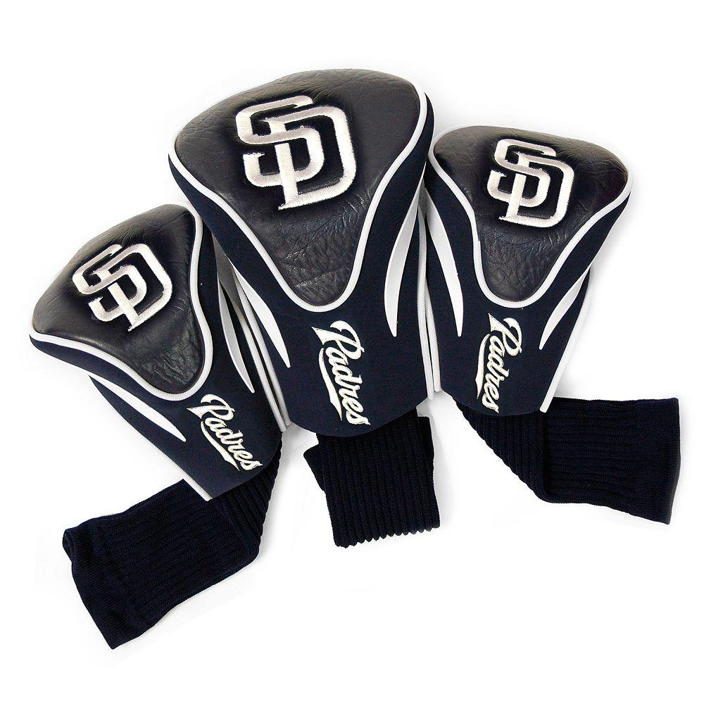 Team Golf San Diego Padres 3-pc. Contour Head Cover Set