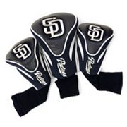 Team Golf San Diego Padres 3-pc. Contour Head Cover Set