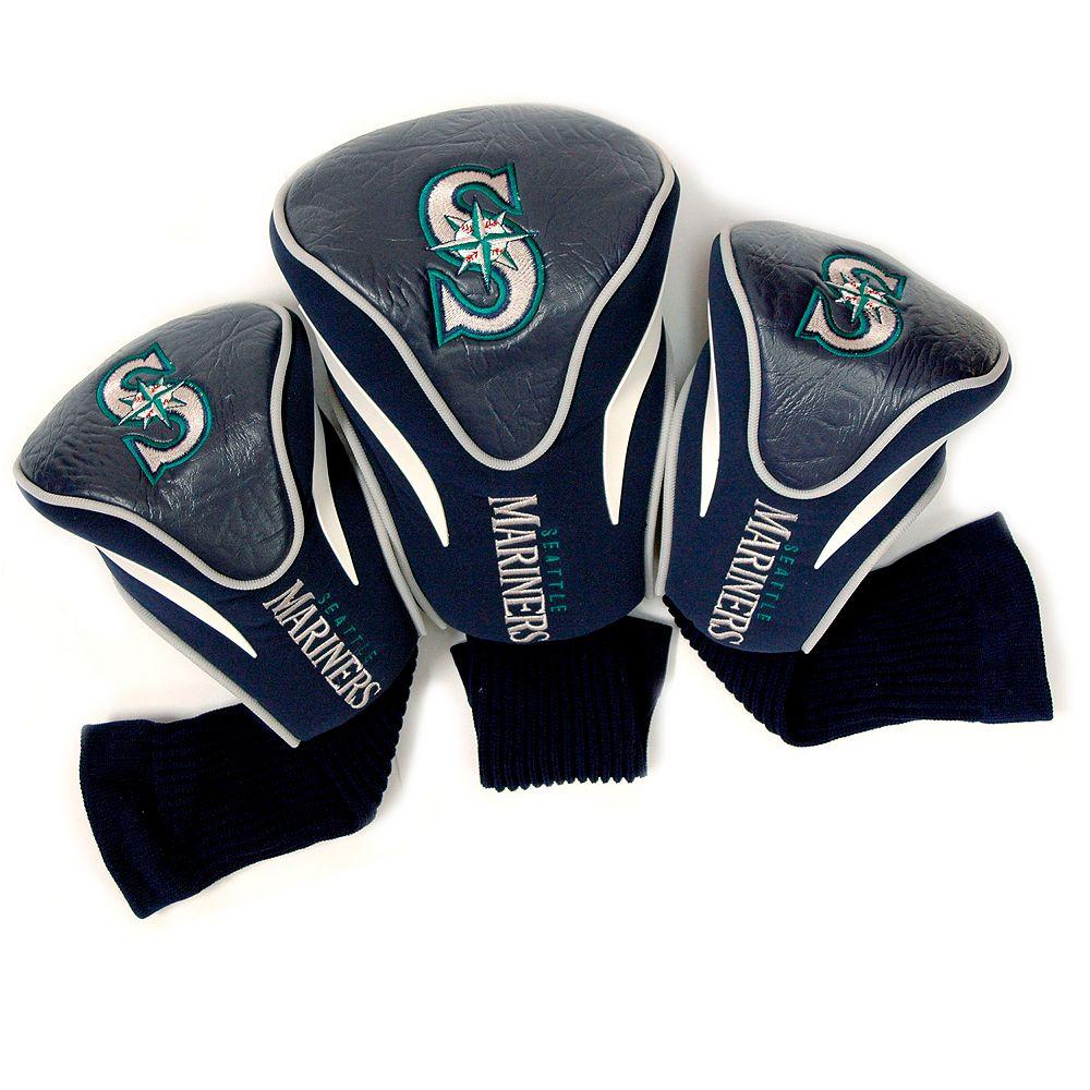 Team Golf Seattle Mariners 3-pc. Contour Head Cover Set